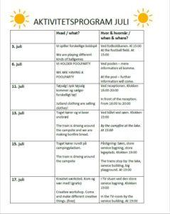 Aktiviteter for hele familien i sommerferien