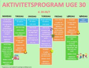 Aktivitetsprogram-uge-30